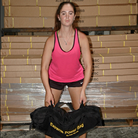 Burpee + Sandbag clean = Crazy Workout